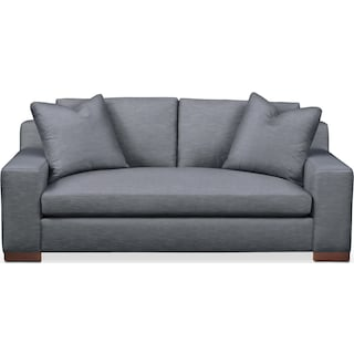 Ethan Apartment Sofa- Cumulus in Hugo Indigo