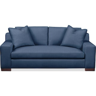 Ethan Apartment Sofa- Cumulus in Abington TW Indigo