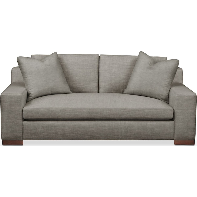 Living Room Furniture - Ethan Apartment Sofa- Cumulus in Victory Smoke
