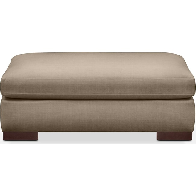 Living Room Furniture - Ethan Ottoman- Cumulus in Statley L Mondo