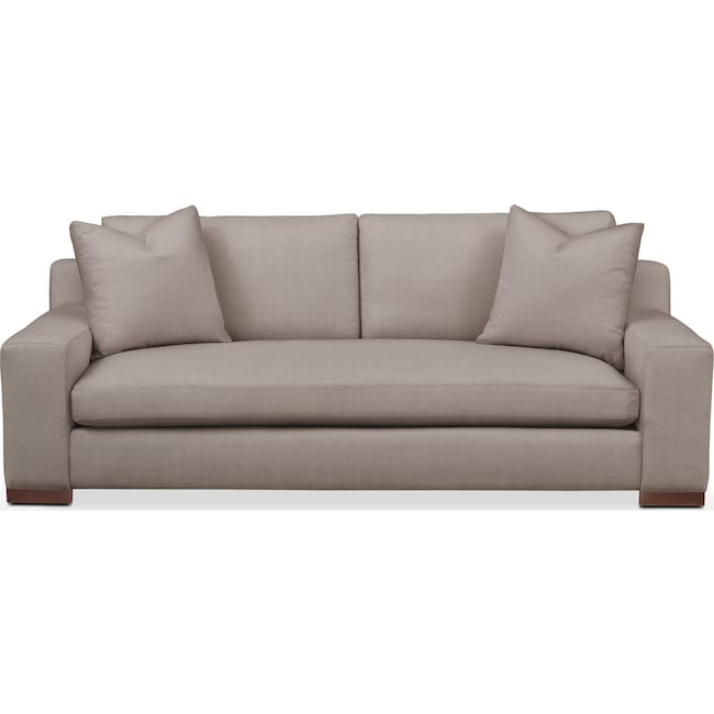 Living Room Furniture - Ethan Sofa- Cumulus in Abington TW Fog