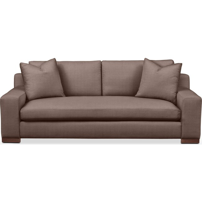Living Room Furniture - Ethan Sofa- Cumulus in Oakley III Java
