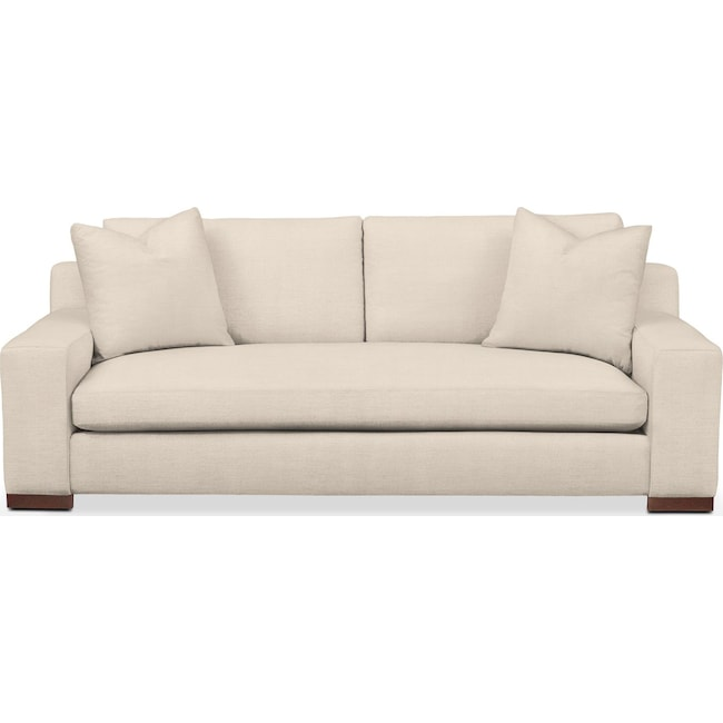 Living Room Furniture - Ethan Sofa- Cumulus in Curious Pearl