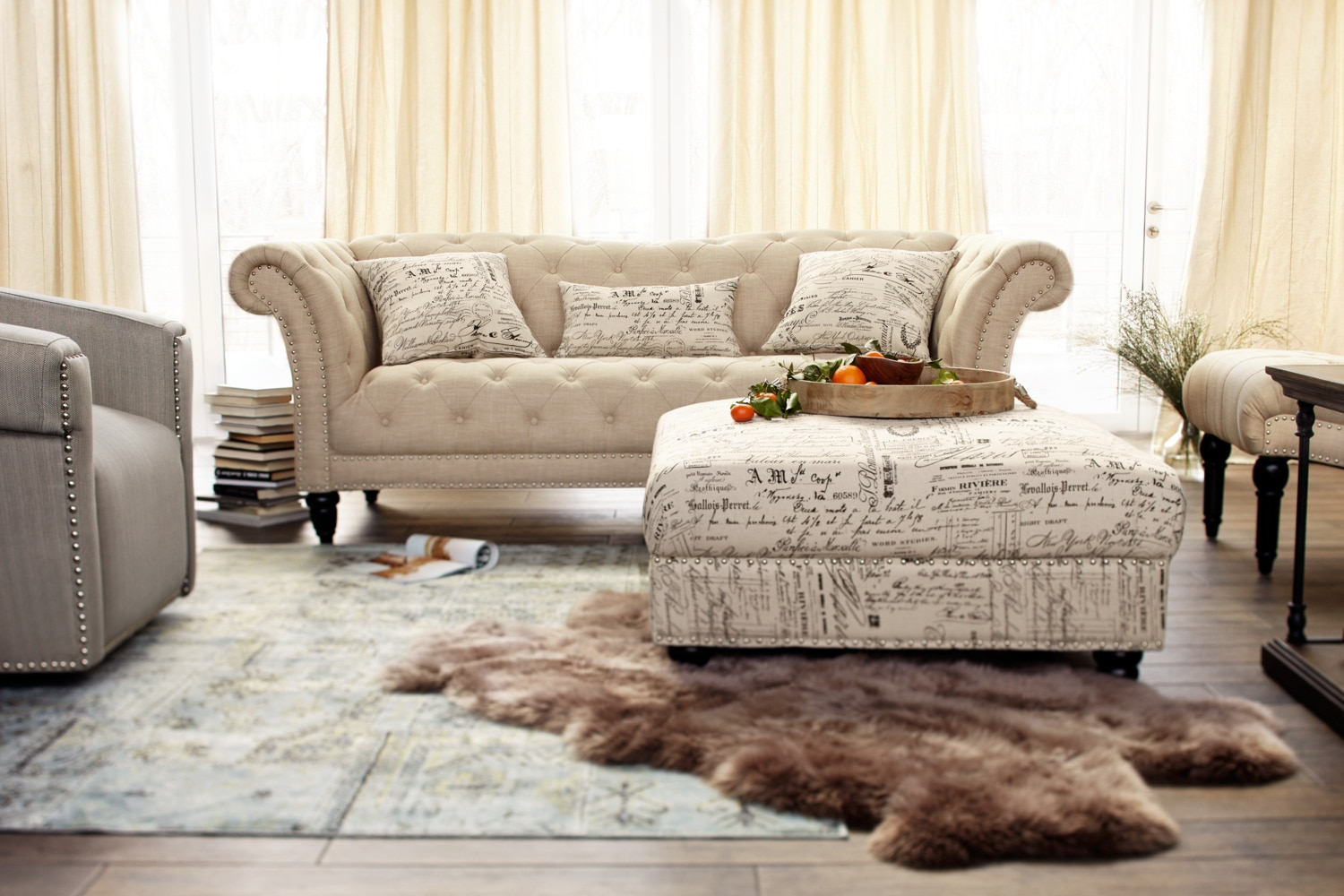 living room loveseats marisol sofa beige american signature furniture 10879