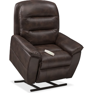 Regis Power Lift Recliner - Chocolate