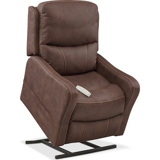 Cabo Power Lift Recliner - Brown