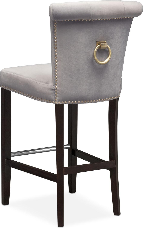 calloway barstool gray gold american signature furniture gol