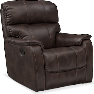Mondo Glider Recliner - Chocolate