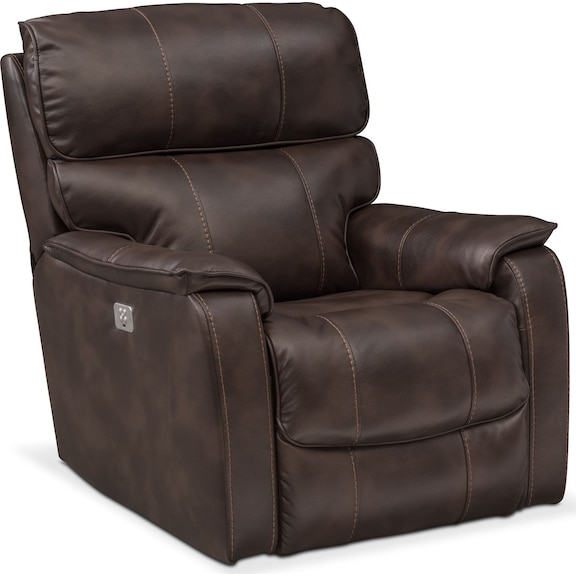 fabric dual sofa jagger recliner brown set