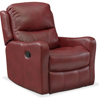 Cabo Glider Recliner - Red