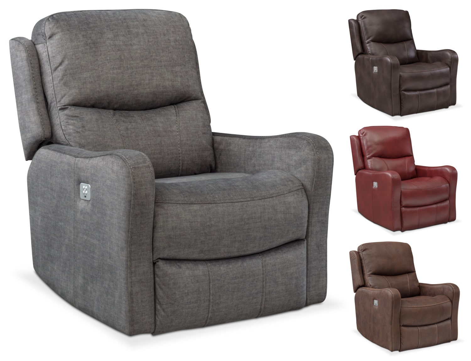 The Cabo Dual Power Recliner Collection
