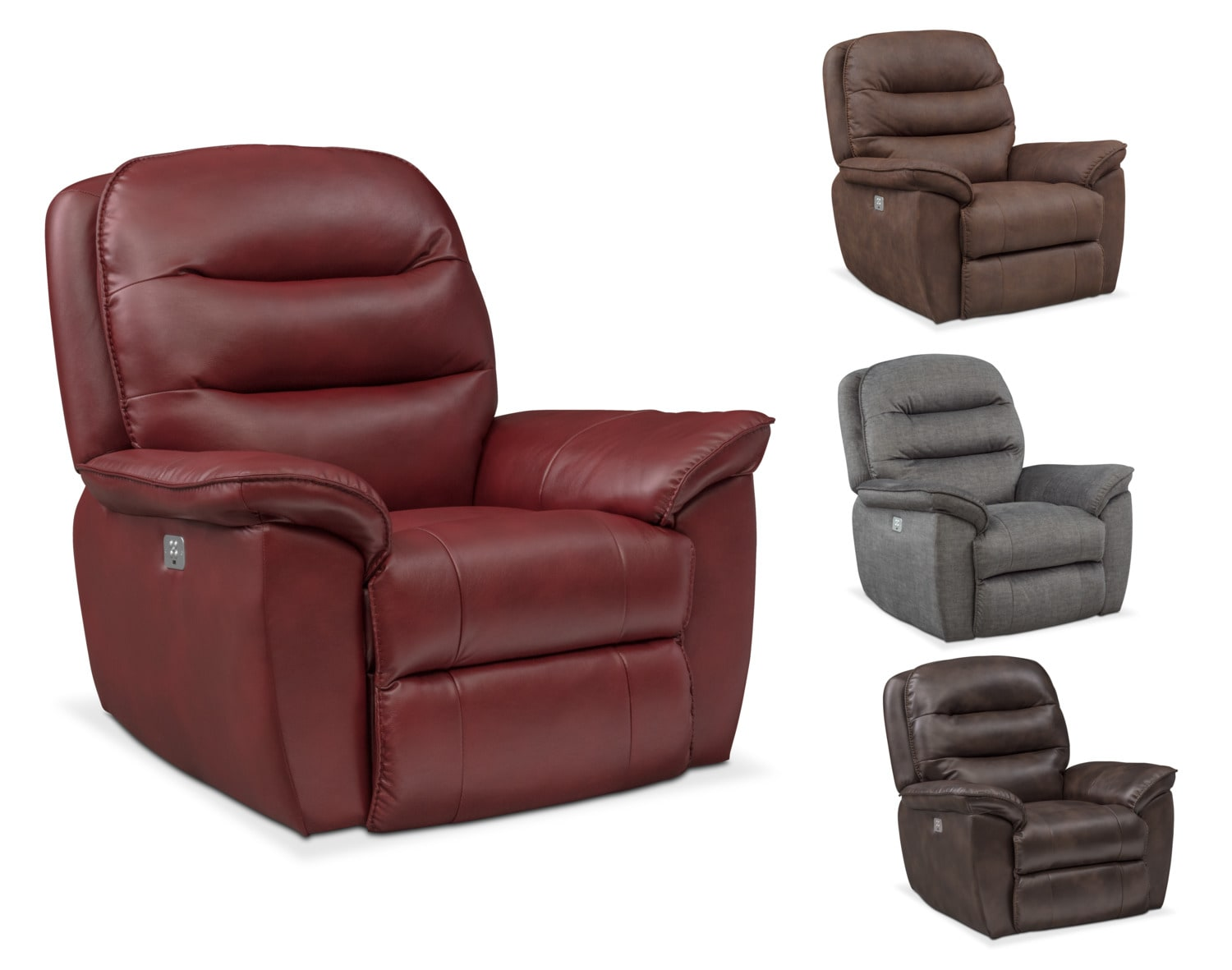 The Regis Dual Power Recliner Collection