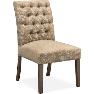 Tinsley Side Chair - Stone