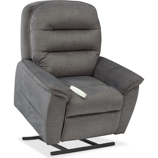 Regis Power Lift Recliner - Gray