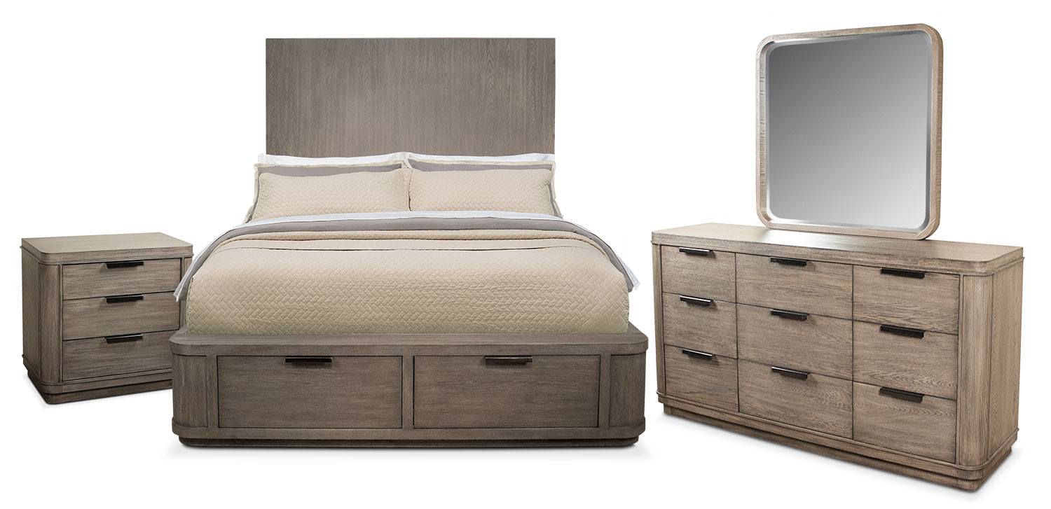 American Signature Furniture Bedroom Sets Dimora Black King Bed Value City Furniture From