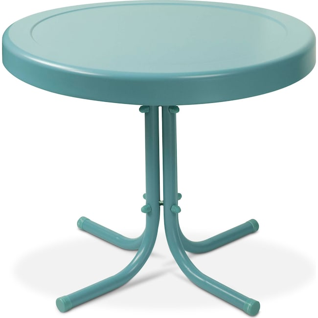 Outdoor Furniture Apollo Side Table Blue