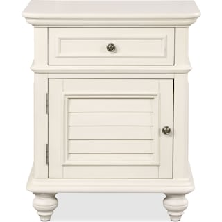 Charleston Nightstand - White