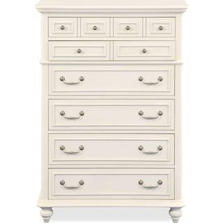 Charleston Chest - Vintage White