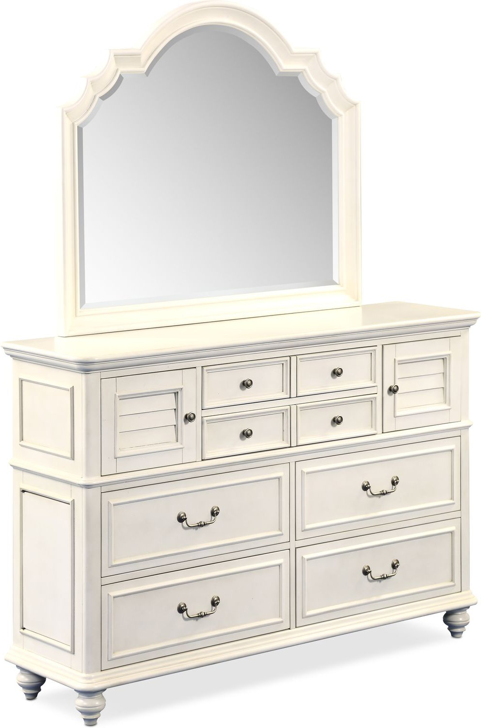 Bedroom Furniture - Charleston Dresser and Mirror
