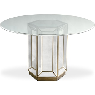 Reflection Round Dining Table - Mirror