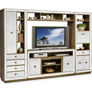 Reflection 4-Piece Entertainment Center