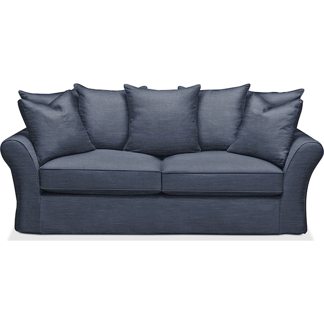Living Room Furniture - Allison Sofa- Comfort in Curious Eclipse