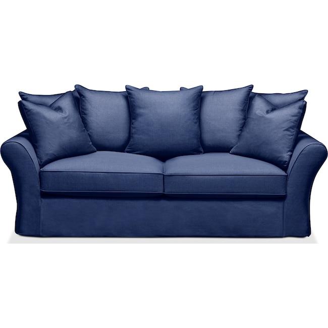 Living Room Furniture - Allison Sofa- Comfort in Abington TW Indigo