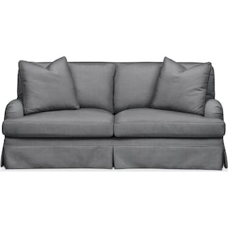 Campbell Apartment Sofa- Comfort in Depalma Charcoal