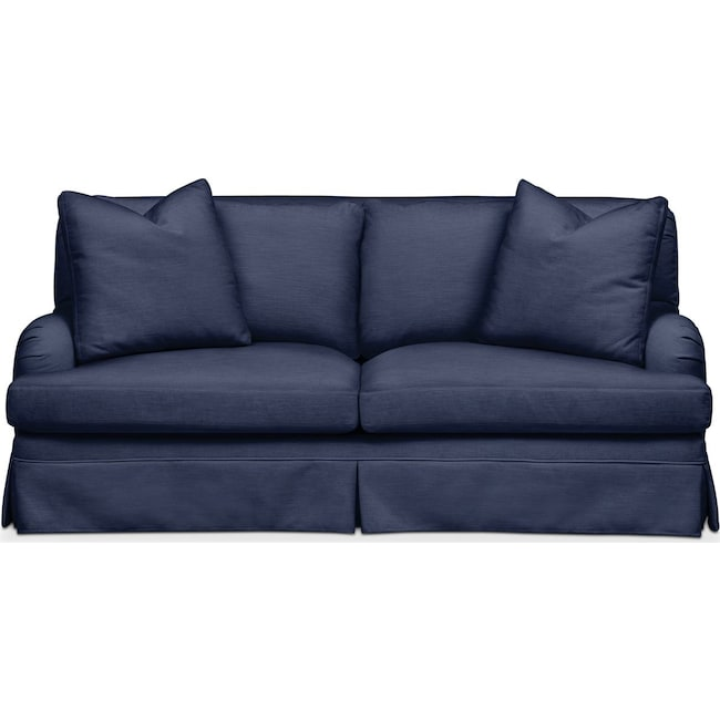 Living Room Furniture - Campbell Apartment Sofa- Comfort in Oakley III Ink
