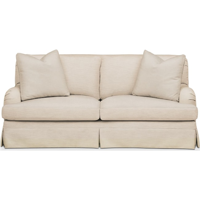 Living Room Furniture - Campbell Apartment Sofa- Comfort in Victory Ivory