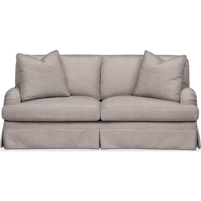 Living Room Furniture - Campbell Apartment Sofa- Comfort in Curious Silver Rine