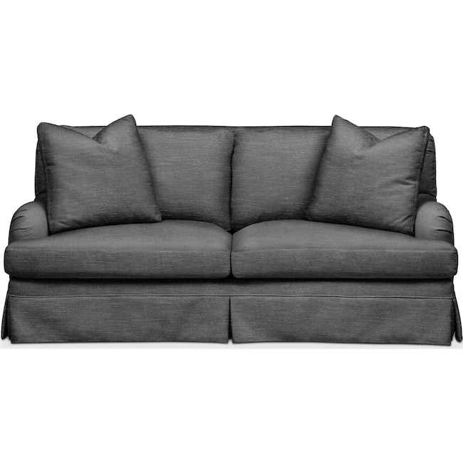 Living Room Furniture - Campbell Apartment Sofa- Comfort in Curious Charcoal