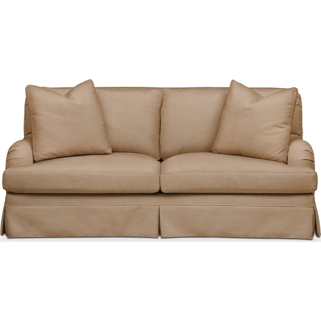 Living Room Furniture - Campbell Apartment Sofa- Comfort in Hugo Camel