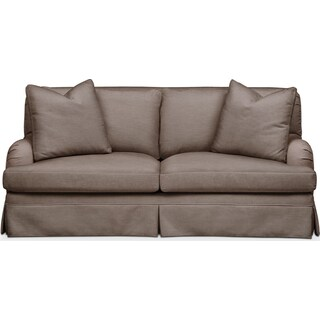 Campbell Apartment Sofa- Comfort in Hugo Mocha
