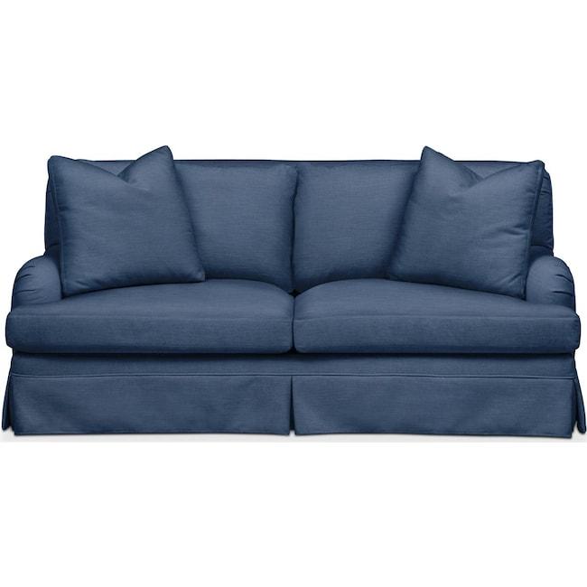 Living Room Furniture - Campbell Apartment Sofa- Comfort in Hugo Indigo