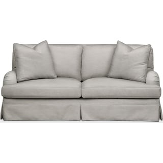 Campbell Apartment Sofa- Comfort in Dudley Gray