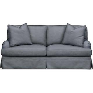 Campbell Apartment Sofa- Comfort in Dudley Indigo