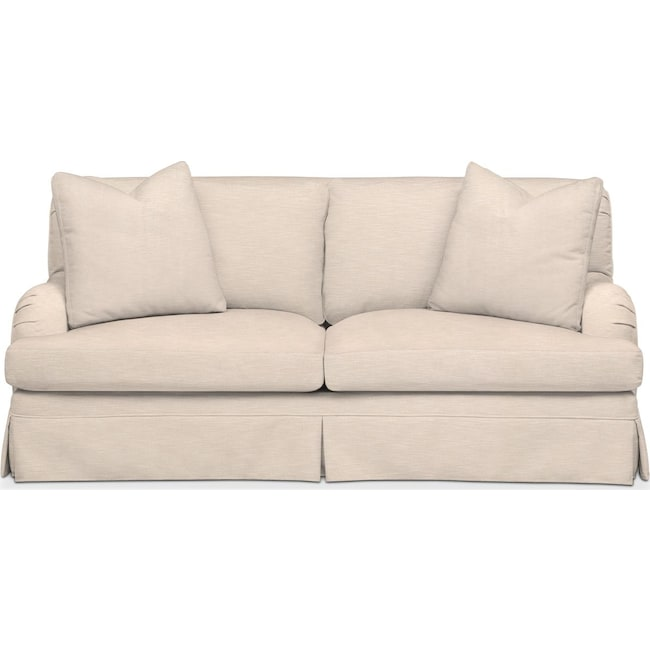 Living Room Furniture - Campbell Apartment Sofa- Comfort in Dudley Buff