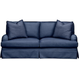 Campbell Apartment Sofa- Comfort in Abington TW Indigo