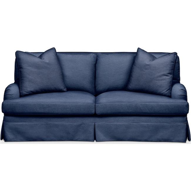 Living Room Furniture - Campbell Apartment Sofa- Comfort in Abington TW Indigo