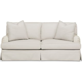 Campbell Apartment Sofa- Comfort in Anders Ivory