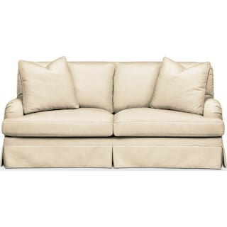 Campbell Apartment Sofa- Comfort in Anders Cloud