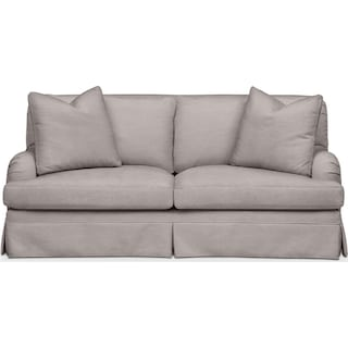 Campbell Apartment Sofa- Cumulus in Curious Silver Rine