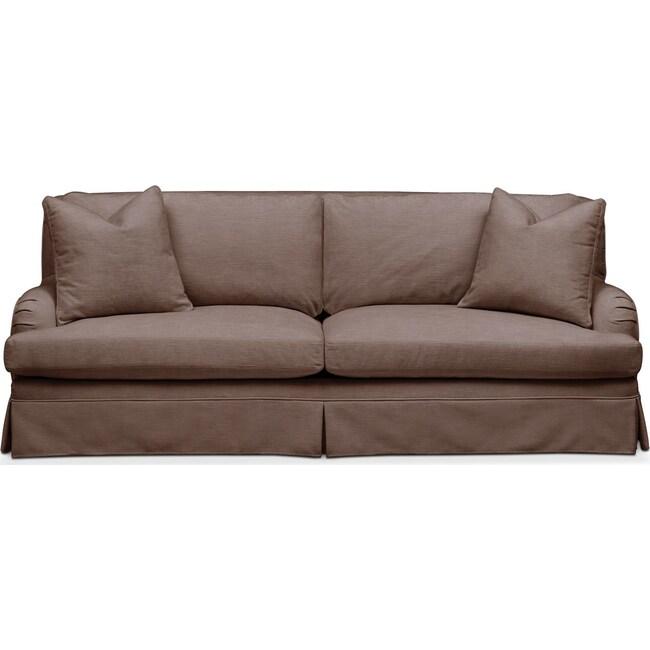 Living Room Furniture - Campbell Sofa- Comfort in Oakley III Java