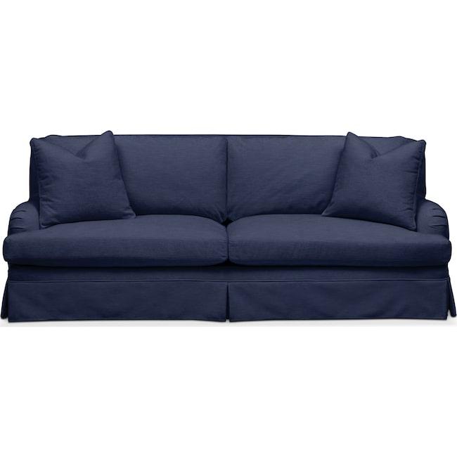 Living Room Furniture - Campbell Sofa- Comfort in Oakley III Ink