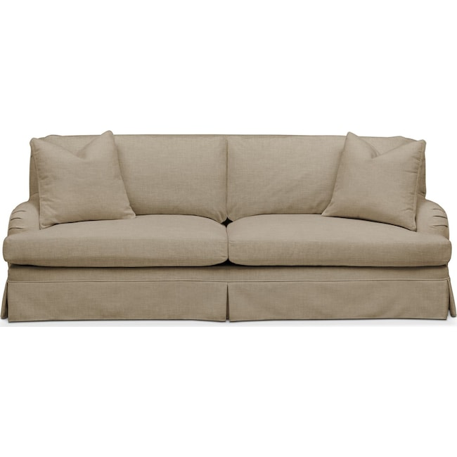 Living Room Furniture - Campbell Sofa- Comfort in Milford II Toast