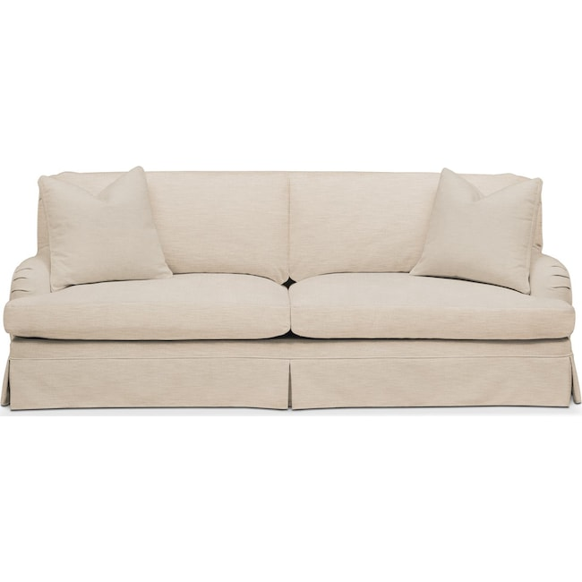 Living Room Furniture - Campbell Sofa- Comfort in Victory Ivory