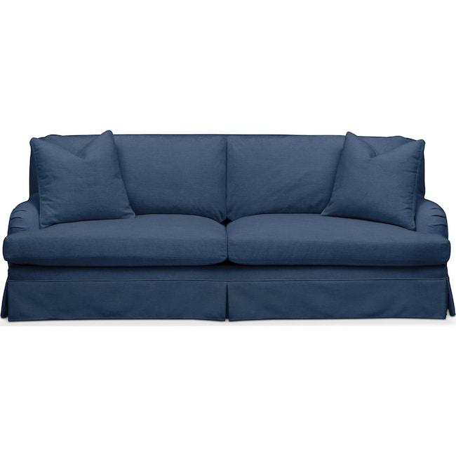 Living Room Furniture - Campbell Sofa- Comfort in Hugo Indigo
