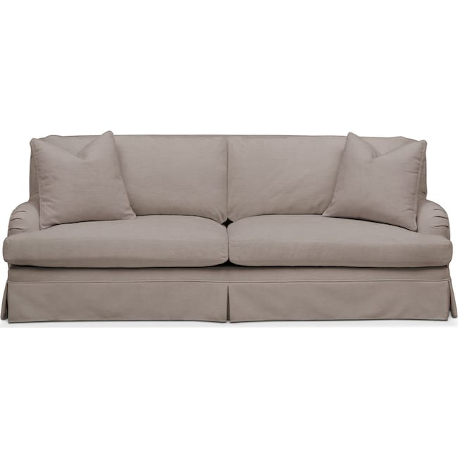 Living Room Furniture - Campbell Sofa- Comfort in Abington TW Fog