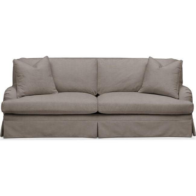 Living Room Furniture - Campbell Sofa- Cumulus in Oakley III Granite